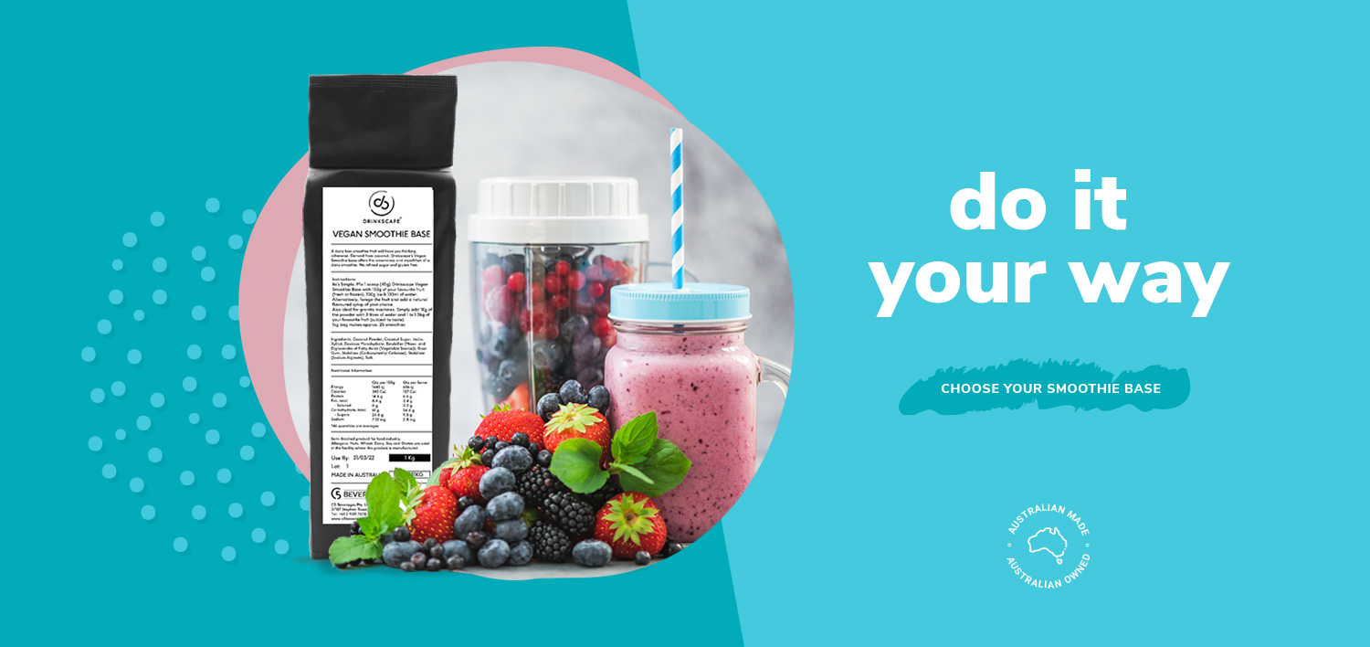 Do It Your Way - Choose your Smoothie Base